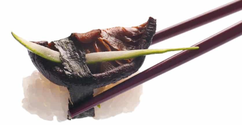японска кухня гъби