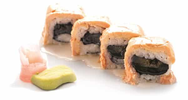 Суши Урамаки гъши дроб със смокини 4 броя