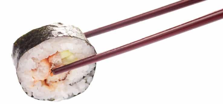 Суши Змиорка Унаги с краставица 6 броя