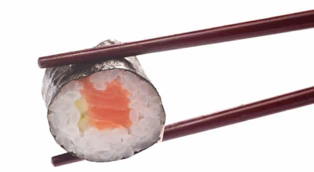 Суши със Сьомга 8 броя