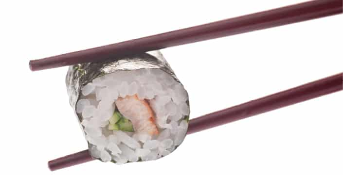 Суши Змиорка Унаги и краставица 8 броя
