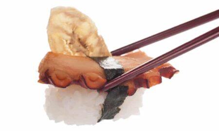 Суши Октопод с чипс от банан 2 броя