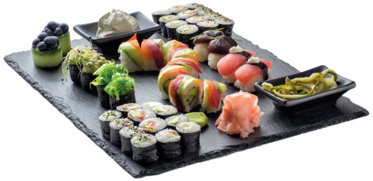 Суши Зеленчуков сет 42 броя