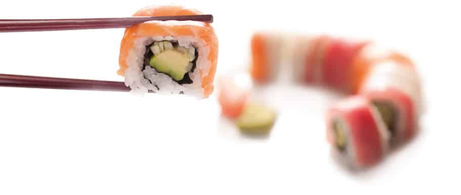 Суши Урамаки Фиш Рейнбоу 8 броя