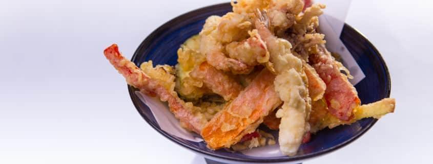 японската кухня - темпруа
