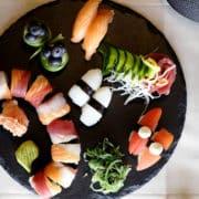 зелечучи за суши